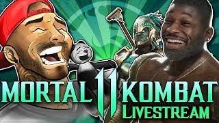 I HAVE A KITANA?! | Mortal Kombat 11 Online Fun | LIVESTREAM ARCHIVE
