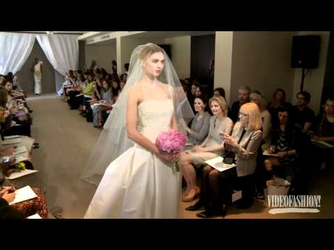 Carolina Herrera Bridal Spring 2013 - Videofashion