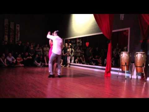 Valentine's Bachata Routine at DF Dance Studio in Utah