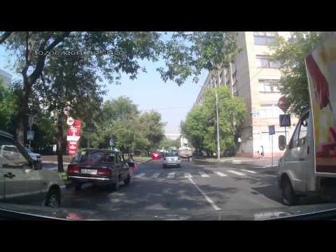ДТП Мазда vs мотоцикл