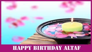 Altaf   Birthday Spa - Happy Birthday