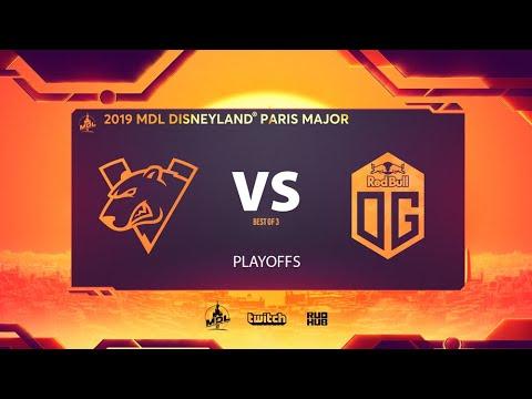 Virtus.pro vs OG, MDL Disneyland® Paris Major, bo3, game 2 [Lex & NS]