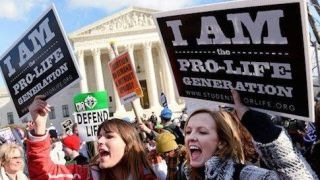 Left hypocrisy: Pro-life group dropped from women