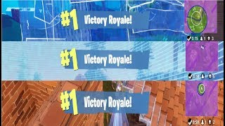 3 Wins in a Row   Fortnite Battle Royale
