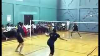 Exclusive - Shalini Ajith plays Badminton HQ