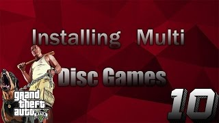 Jtag/RGH Tutorials #10: Installing Multi Disc Games (GTA V, COD Advanced Warfare, Watch Dogs)