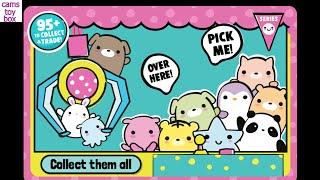MOJ MOJ Claw Machine Surprise Eggs TOYS Squishy Trolls Review Kids Fun Playing