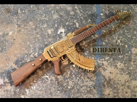 DiResta AK47 Guitar (AKA the GATTAR)
