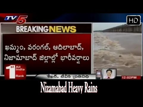 Nizamabad Heavy Rains  - TV5