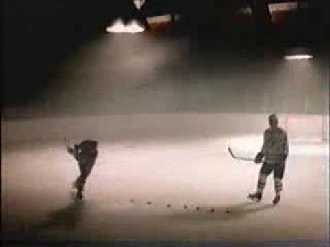 Wayne Gretzky Mats Sundin McDonald's Hockey Commercial Video