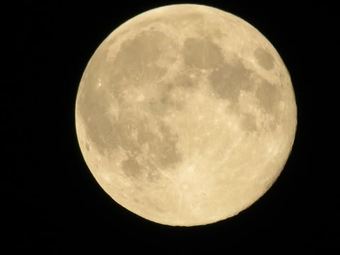 August 2014 Full Moon ! 2nd of 3rd Super Moons in a row.