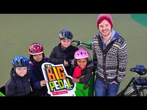 Barney Harwood invites you to join The Big Pedal 2014