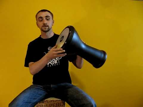 Darbuka Lesson 1 - position & strokes [B] Music Videos