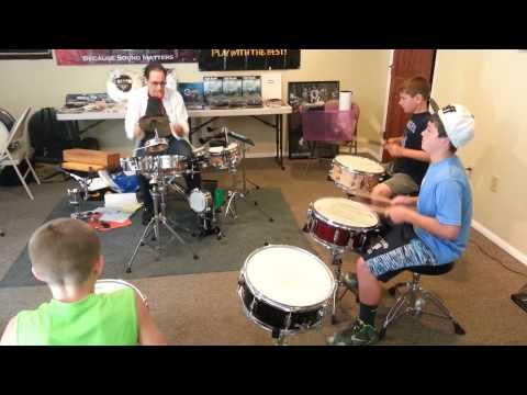 Stick Trix Rehearsal