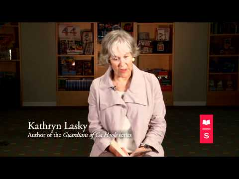 Guardians of Ga'Hoole author Kathryn Lasky reads an excerpt from The Capture