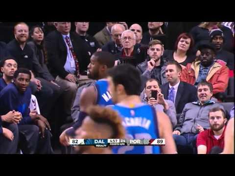 Wesley Matthews vs Portland Trail Blazers 01.12.2015 (18Pts)