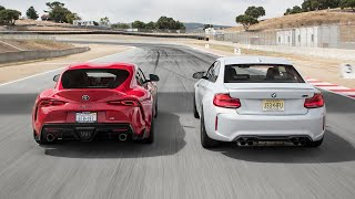 BMW M2 Competition vs. Toyota GR Supra Launch Edition—2019 BDC Hot Lap Matchup