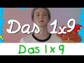 Das 1x9 Lied   Mathe Lernlieder || Kinderlieder
