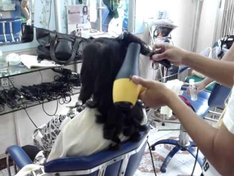 kỹ thuật sấy tóc không bi khô tóc