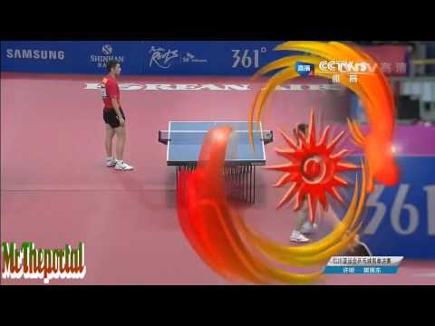 Asian Game 2014 FINAL - Xu Xin Vs Fan Zhendong -