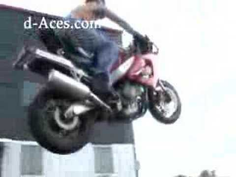 Crotch Rocket Stunt Video Video