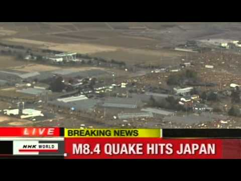 Earth Quake in Japan - Tsunami LIVE News 11.03.2011