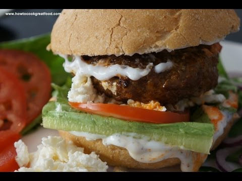 Ethiopian Food - Burger recipe Berbere Ayib Awaze