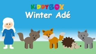 Winter Adé - Kinderlieder Zum Mitsingen - (KIDDYBOX.TV) Karaoke Lyric Songtext