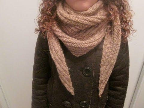 tuto tricot apprendre a tricoter un cheche au point de godron facile youtube. Black Bedroom Furniture Sets. Home Design Ideas