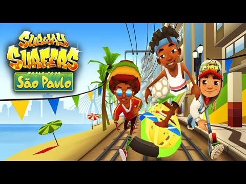 Subway Surfers: Sao Paulo - Sony Xperia Z2 Gameplay