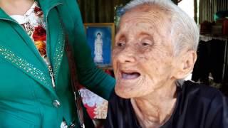 Bà cụ NGUYỄN THỊ XUÂN 98t ,không người nuôi dưỡng