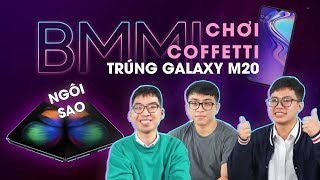 Galaxy S10 không phải ngôi sao của tối nay? | Confetti trúng Galaxy M20