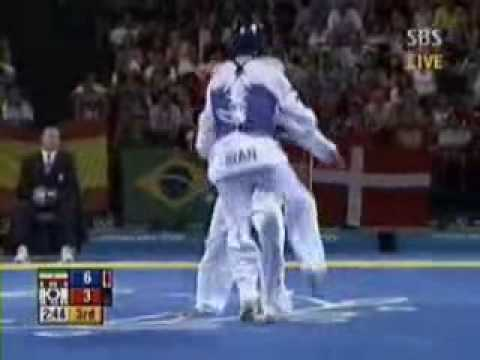Olympic Tae-Kwon-Do Sparring Image 1