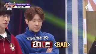 """Sunggyu - yugyeom dance Infinite """"Bad"""""""