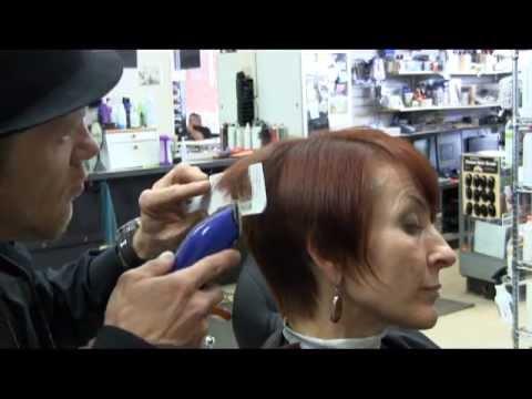 Super short asymmetrical clipper haircut video