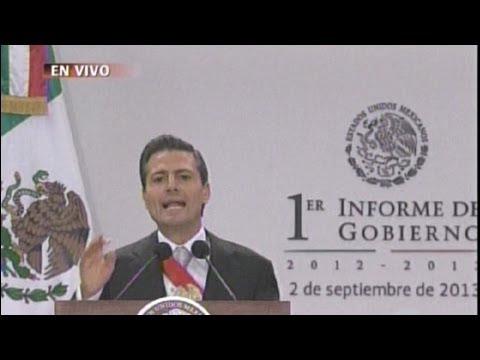 Primer Informe de Gobierno Peña Nieto completo 2013