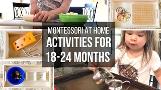 MONTESSORI AT HOME: Toddler Activities