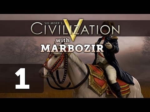 Civilization 5 Brave New World [Part 1] Let's Play France on Earth Map