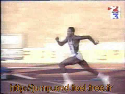 High Jump World Record 2.45 - Javier Sotomayor