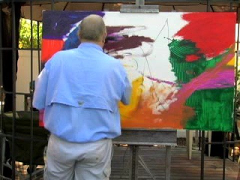 Abstract Expressionist Artist Patrick Gaughan