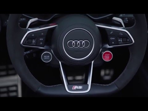 Audi TT RS Roadster - Interior Design Trailer | AutoMotoTV