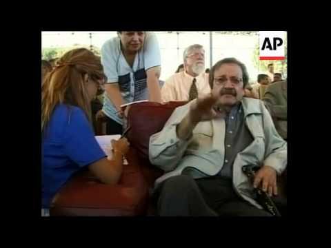 LIBYA: FORMER HOSTAGES HELD IN PHILIPPINES ARRIVE