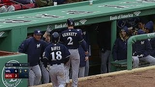 MIL@BOS: Overbay breaks the tie with a two-run double