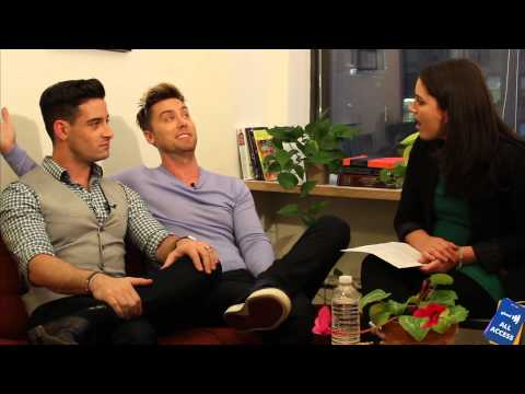 All Access: Lance Bass & husband Michael Turchin talk E! special