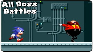 Sonic The Hedgehog All Bosses