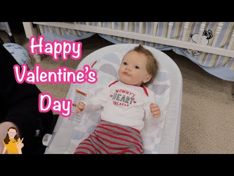 Changing Reborn Baby Micah for Valentine's Day! ♥ Kelli Maple