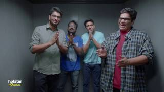 On Air With AIB - Season 2. Watch it on Hotstar every Monday, Wednesday, Friday