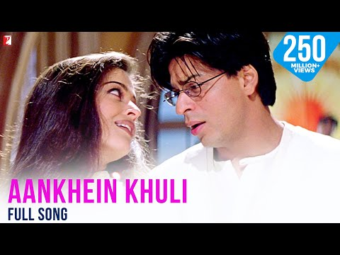 Aankhein Khuli - Full Song | Mohabbatein | Amitabh Bachchan | Shah Rukh Khan | Aishwarya Rai