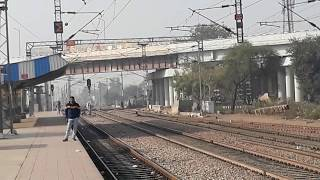 Man Almost Getting Hit By Train.Indian Trains.Indian Railway.