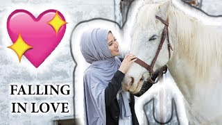 Hijab Photoshoot with Horses ft. Saimascorner | Fictionally Flawless